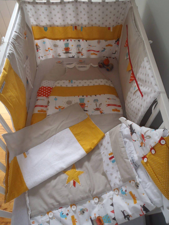collection b b mixte tour de lit 2 gigoteuses 0 6 mois et. Black Bedroom Furniture Sets. Home Design Ideas