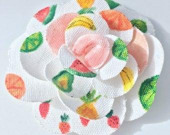 Fruity Flower clip, Twoti Fruity, Flower Clip