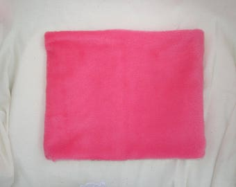 snood for children pink - soft and warm - customizable