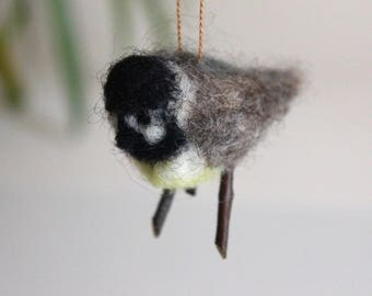 Felted Chickadee