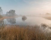Misty Mere Blank Greeting...