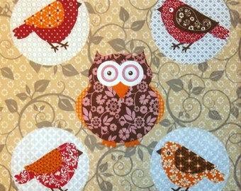 Napkin COLLECTION the owls and the owls 184 size 33 X 33
