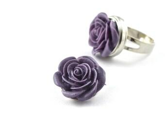 1 snap snap flower purple 18mm