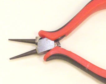 Pliers round tip steel for creating jewelry