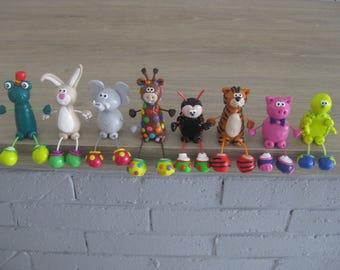 The z' funny animals in Fimo to choice (sold separately)