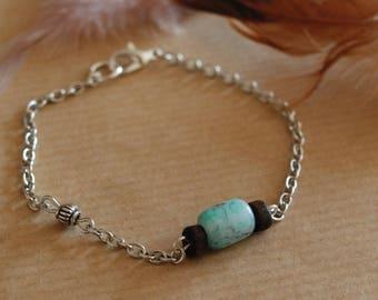 Inca chain bracelet
