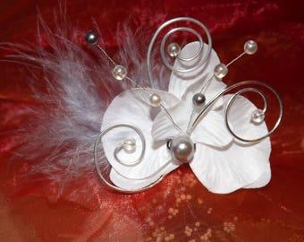 white hair stick for wedding