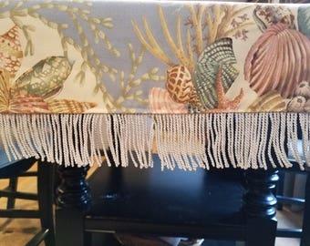 Sea Shell Table Runner/Dresser Scarf