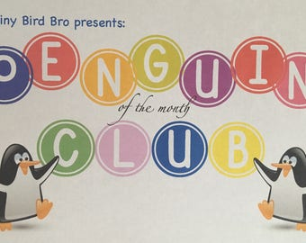 9 Month Penguin Recruitment Plan - Penguin of the Month Club!!