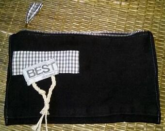 Black jeans handmade