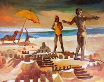 Jaime on the Beach