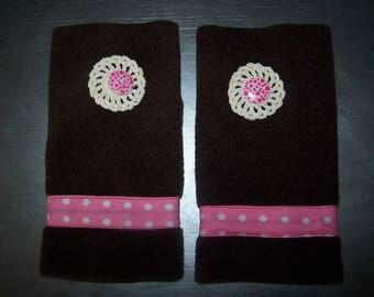 Mittens size S in fleece, fashion accessory
