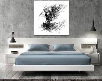 bedroom art. CANVAS ART Sensual Bedroom Art  Elegant Minimalist Abstract Modern Erotic Master Wall Decor
