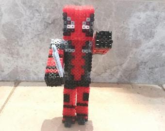 Deadpool 3D Hama Beads
