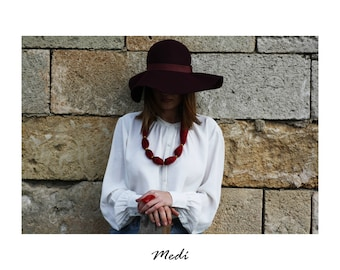 Necklace-Red Velvet