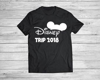 Disney trip 2018 - Shirt - Disney family shirts / Disney trip shirts/ Disney family trip shirt