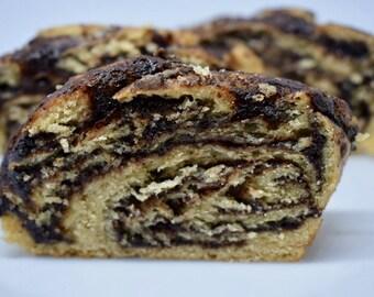 Vegan Babka Chocolate Cake - Loaf (370g)