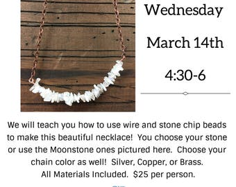 Make a Stone Chip Necklace