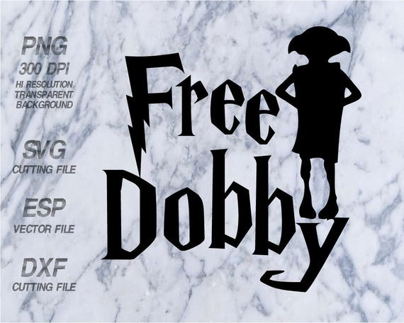 Free dobby | Etsy |Dobby Harry Potter Svg