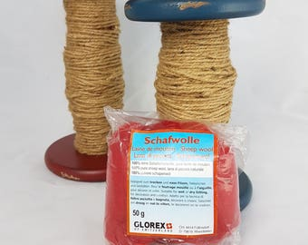 Carded wool for felting 50 g - Glorex