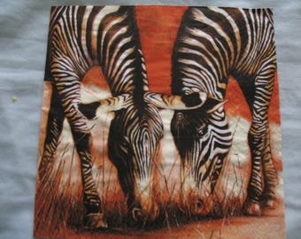 TOWEL DECOR ZEBRAS