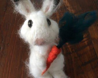 Jon, needle felted bunny