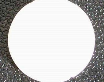 1 PNP16 18mm white mother of Pearl coin bead
