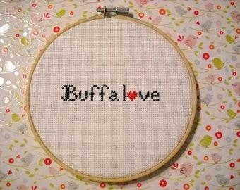 Buffalove NY Cross Stitch
