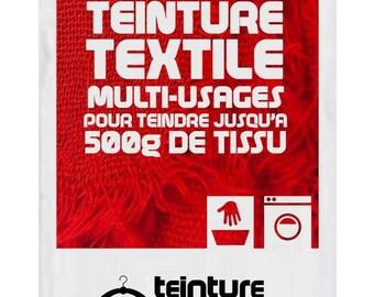 Textile dyeing universal 10gms rougeTEINTURE DESIGN