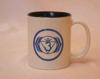 Ajna (Third Eye Chakra) Chakra 'Med-tea-tation' Mug