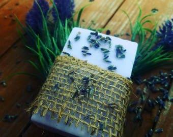 Vanilla Lavender Goat's Milk Soap
