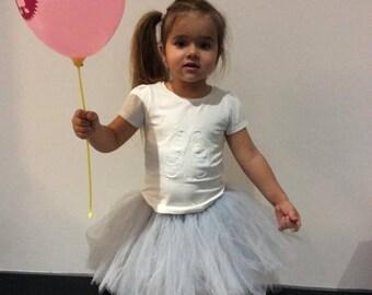 White Tutu for little girl