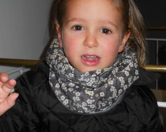 Snood Liberty mitsi gray kids