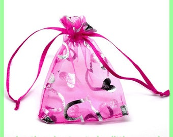 organza bag 9 X 7 cm pouch N3 to embellish your gifts