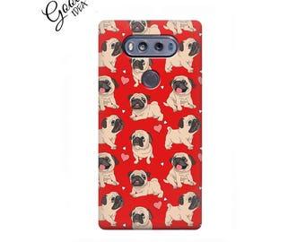 LG g3 stylus, lg g4 stylus, lg k10 case, lg k7 case, puppies, lg k4 case, pug, lg v20 case, lg v30 case, pug case, lg Nexus 5 case, LG g5