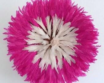 Juju Hat Blanc Contour Rose / Juju Hat White Outline Pink
