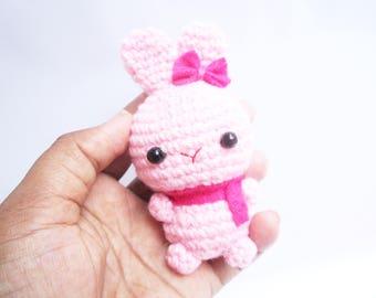 Amigurumi Bunny / Easter gift / cute rabbit / bunny keychain / amigurumi plushies