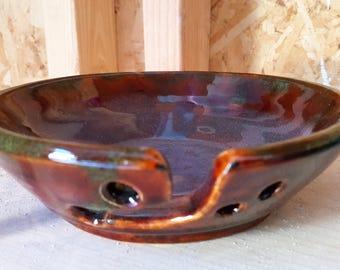 Handcrafted Ceramic Yarn Bowl