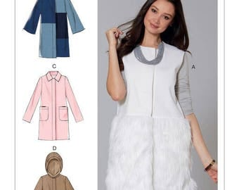 M7481 Mc Call's coat and vest sewing pattern