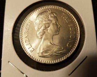 1964 Rhodesia 25 Cents PF KM# 4