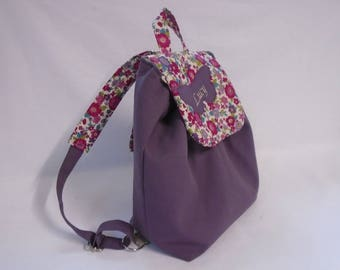 TO order purple + liberty backpack plum