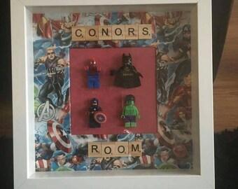 Framed Avengers for the hero's  in your life