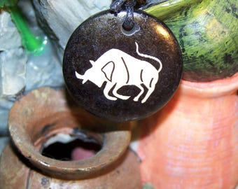 Taurus zodiac sign pendant necklace Locket