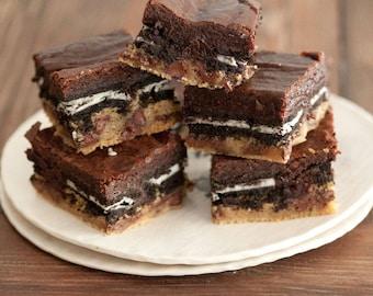 "The ""OG"" Original Chocolate Chip Cookie Dough Brownie Bar"