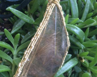 Geometric Large Rutilated Quartz
