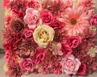 Silk Flower Canvas