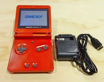 Nintendo Game Boy Advance GBA SP Red System AGS 001 Mint New (Pick Button Color!)