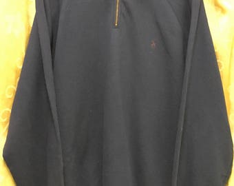 Polo by ralph lauren sweatshirt small logo pullover zipper embroidery sweater