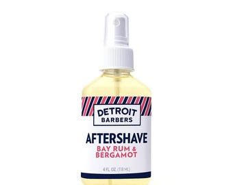 4 oz. After Shave - Bay Rum & Bergamot