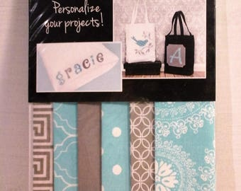 Set of 6 fabrics collection